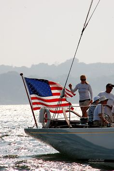 sailing on the of A Lovely Journey, Sea To Shining Sea, Home Of The Brave, Land Of The Free, Old Glory, Town And Country, Yacht Club, God Bless America, Lake Life