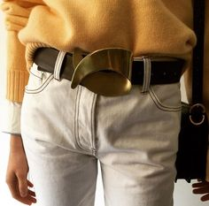 Trademark belt. Want.