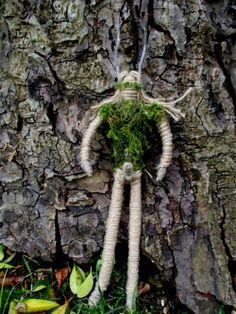 Handmade Cernunnos  Pagan Horned God Green Man by PositivelyPagan