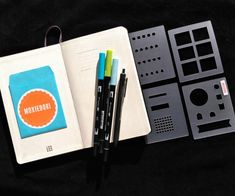 This set of 4 bullet journaling stencils is loaded with the most common and useful bullet journaling spread and tracker elements. Hop over here to check this stencil set out. Bullet Journal Gifts, Bullet Journal Essentials, April Bullet Journal, Bullet Journal Stencils, Bullet Journal Tracker, Bullet Journal Spread, Bullet Journal Layout, Bullet Journal Inspiration, Journal Covers
