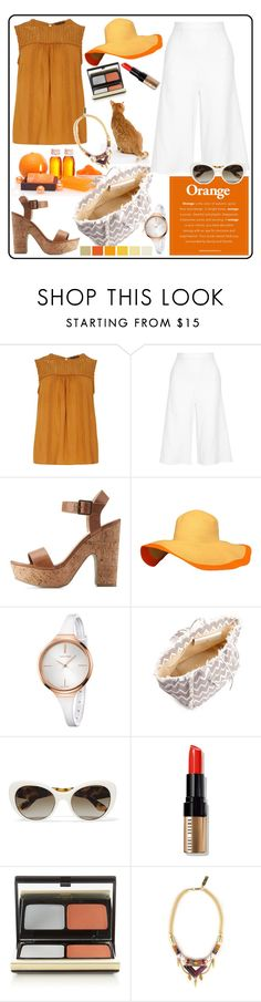 """""""COCKTAIL PARTY!!!"""" by kskafida ❤ liked on Polyvore featuring Dorothy Perkins, Miguelina, Charlotte Russe, Calvin Klein, Melissa Odabash, Prada, Bobbi Brown Cosmetics, Kevyn Aucoin and Celine H2o"""