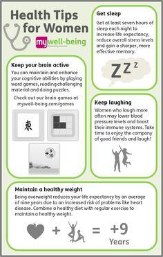Health Tips for women - Adjust to Life Chiropractic from #simpsonvillesc