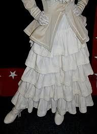 layered dress with petticoat - Google Search