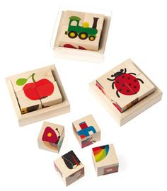 Little wood puzzles, ingenious! and fun to play assemble!