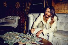 "Jared Leto Looks Absolutely Flawless For ""Flaunt"" Magazine"
