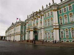 The Hermitage Museum, St. Petersburg...need to get there! home not only to a multitude of masterworks, but the incredibly elaborate Winter Palace where Catherine the Great once lived.