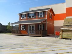 Home Depot Shed....I would totally live in it!!!
