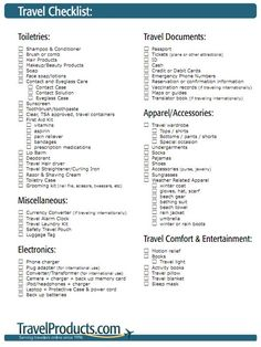 The ULTIMATE Packing Checklist for Your Next Trip