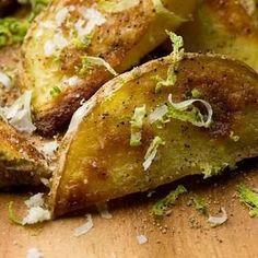 Black pepper & lime fries #food #recipe