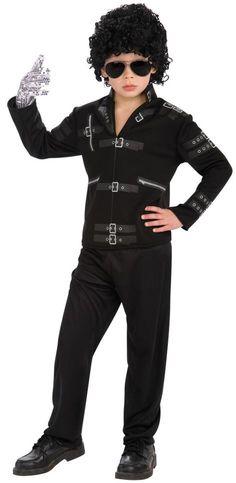 Michael's Bad Black Buckle Jacket - Party Depot