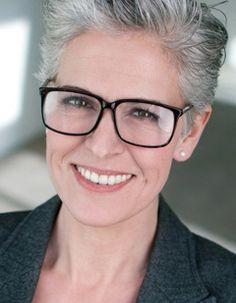 Anja S. // silver gray hair