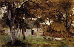 Farm in Normandy, 1859, Berthe Morisot