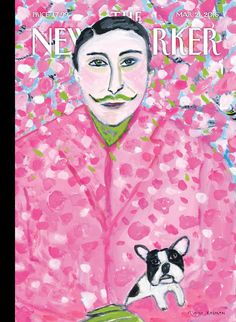"""The New Yorker - Monday, March 21, 2016 - Issue # 4631 - Vol. 92 - N° 6 - Cover """"Blackbird"""" by Maira Kalman"""