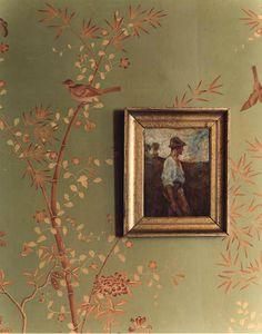 爱 Chinoiserie? 爱 home decor in chinoiserie style - gracie wallpaper