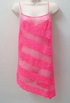 VICTORIA'S SECRET Sheer and Lace Slips Sleepwear NEW NWT  #VictoriasSecret #FullSlips