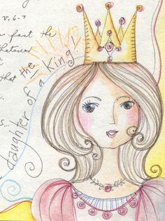 peggy aplSEEDS: My Prayer Journal 2012- DAUGHTER OF A KING