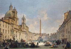 piazza del popolo painting - Google-Suche
