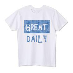 Great daily   デザインTシャツ通販 T-SHIRTS TRINITY(Tシャツトリニティ)