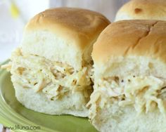 Rice-a-Roni Chicken Salad Sandwiches