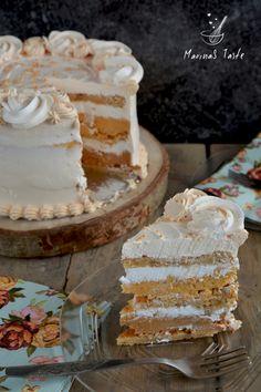 Torte Recepti, Kolaci I Torte, Cake Pops, Apple Rose Pastry, Wine Recipes, Baking Recipes, Torta Recipe, Homemade Vanilla Extract, Torte Cake