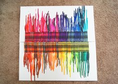 my melted crayons !