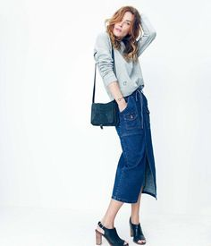 Madewell has tapped Daryl Kerrigan for an 18-piece capsule collection focused on denim