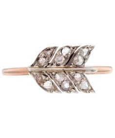 Gold & Diamond Reworked Antique Ring