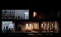 Written on Skin @ Royal Opera House, London. Written by George Benjamin, Set design by Katie Mitchell