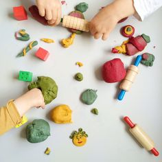 Edible Play Dough dough play