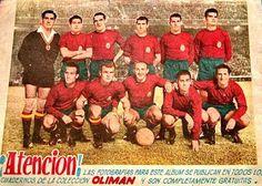 EQUIPOS DE FÚTBOL: SELECCIÓN DE ESPAÑA 1959-60