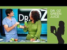 Dr. Oz Green Juice Recipe made with a Blendtec or Vitamix blender