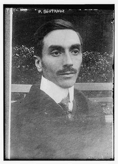 Pierre Boutroux (1880-1922), French mathematician, professor at Princeton: