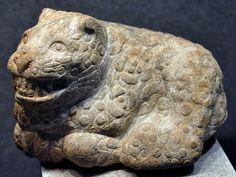 Aztec Animal Sculptures Pic 14: stone aztec jaguar