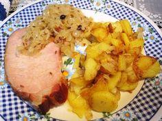 Rezept: Kasslerbraten auf Sauerkraut ... Bild Nr. 2