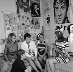 """Residence hall room interior, 1969"" --To learn more, visit the Ball State University Campus Photographs in the Ball State University Digital Media Repository. Copyright 2012, Ball State University. All rights reserved"