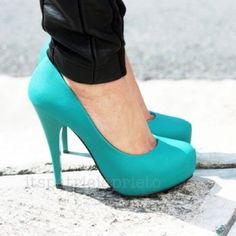 Why I pinned it: Tiffany blue shoes. May need to find wedges, since our wedding is outdoors.