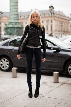 Fall Fashion - Biker Chic Will Be a Big Trend This Fall