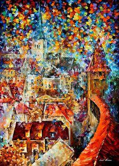 Mesto vo farbách.