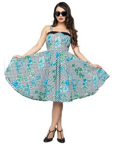 ffcbce12f6 Picnic in Paradise Swing Dress by Steady Clothing. Modern Millie Shop ...