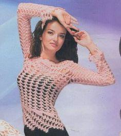 Пуловер с царственной каймой.bl