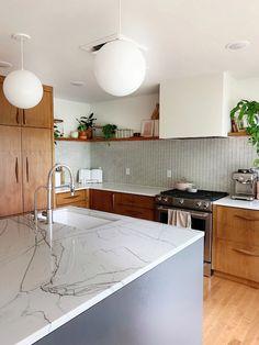 Interior Modern, Interior Design Minimalist, Modern Kitchen Design, Modern Exterior, Modern Luxury, Modern Retro Kitchen, Home Interior, Architectural Digest, Küchen Design