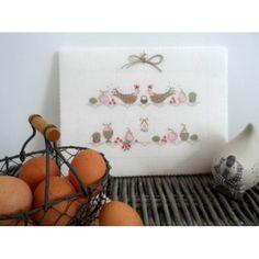 Cross Stitch House, Christmas Cross, Cross Stitching, Creations, Handmade, French Kitchen, Mars, Stitches, Home Decor