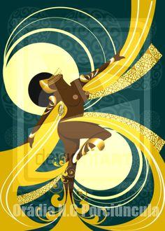 Danca de Oxum  by Orádia N.C Porciúncula