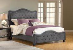 szare łóżko tapicerowane - Szukaj w Google