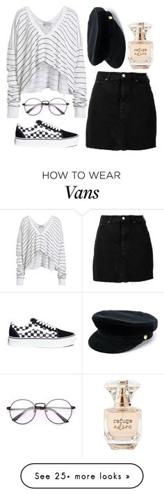 """Untitled #666"" by amy-raines03 on Polyvore featuring Wildfox, IRO, Vans, Manokhi and Refuge"