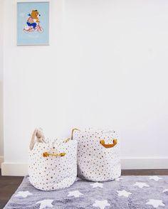 ⭐️I love stars ⭐️ Baobab Toy bags: @nobodinoz  Petit Home #storage #kidsroom #nobodinoz #inspiration #nursery #nurserydecor #designforkids #toybag #stars #madeinSpain #decor #kidsroomdecor #comingsoon #kidsdecor