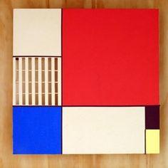 Composición con rojo, azul y amarillo  by Laureana Toledo