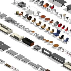 Modern Revit Furniture Pack - Make Easy Diy Peter Zumthor Architecture, Sanaa Architecture, Le Corbusier Architecture, Collage Architecture, Hospital Architecture, Origami Architecture, Architecture Wallpaper, Architecture Design, Art Nouveau Architecture