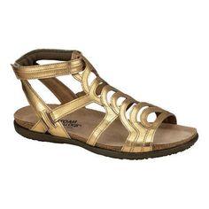 b224a9e4c15c Women s Naot Sara Gold Leather