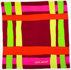 Gene Meyer scarf, 1991